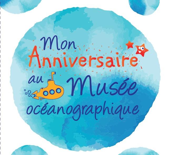 Dessin fêter mon anniversaire au musée océanographique
