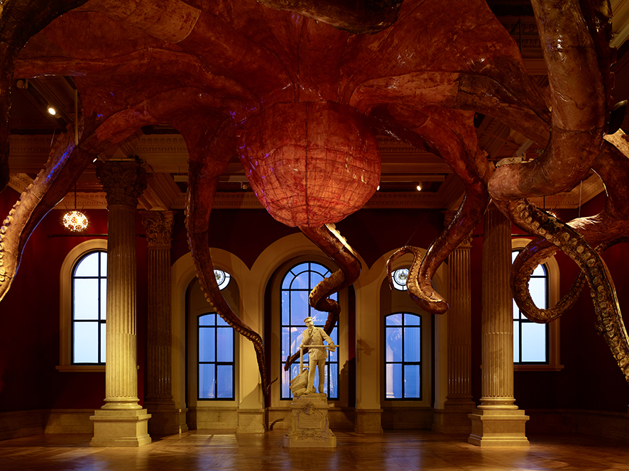 Musée océanographique - photo de Huang Yong Ping