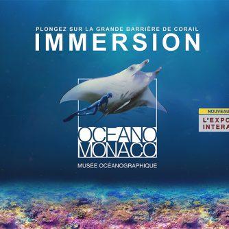 Affiche de l'exposition Immersion - Musée océanographique