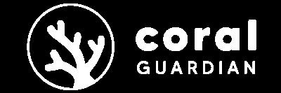 Logo Coral Guardian Blanc