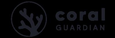 Logo Coral Guardian Bleu